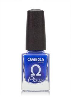 Ocean Blue // Omega Labs USA Polish in Neon Horizon Blue // Summer Nail Polish Trends 2015
