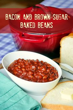A family favourite comfort food, our decades old Bacon Brown Sugar Baked Beans recipe is a perfect winter warm up meal or summer barbecue side dish.