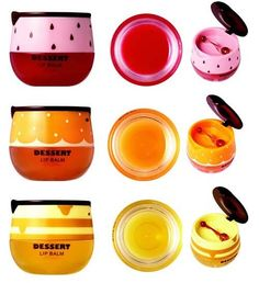 Lovely ME:EX Dessert Lip Balm  By THE FACE SHOP