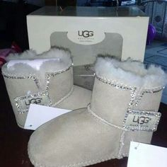 Must have these little Uggs for baby girl!