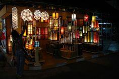 Lamps at Night Bazaar, Chiang Mai, Thailand