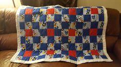 Mickey toddler blanket