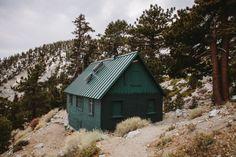 Sierra Club's San Antonio Ski Hut on Mount Baldy in Southern...