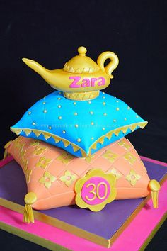 Quinceanera cakes arabian nights and quinceanera on pinterest for Arabian cake decoration