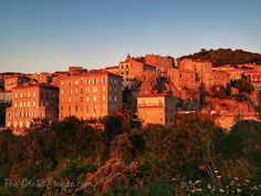 Sunset in Sartene