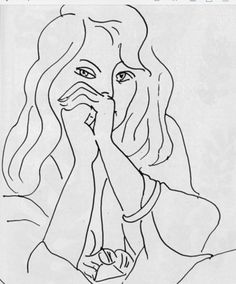 Henri Matisse - Woman with Loose Hair