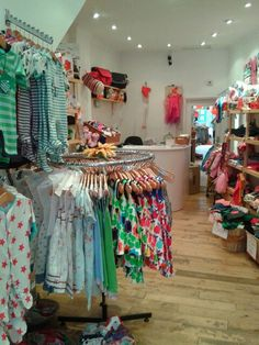 Fun, fashionable, fair trade baby shop.