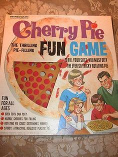 Vintage Transogram - Cherry Pie Fun Game 1960s Complete