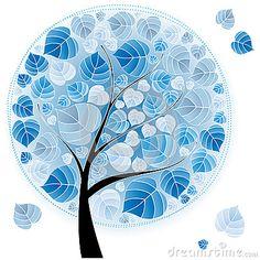Winter tree by Natuska106