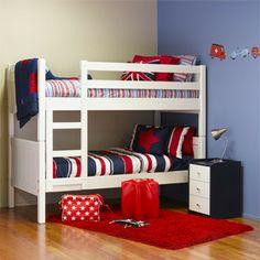 Chalet bunks kidzspace.co.nz $1400 Kids Bedroom Furniture, Bunk Beds, Kids Room, Room Decorations, Bedding, Stairs, Houses, Inspiration, Flat
