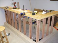 build a dry bar | The Learn As I Go Theater/Bar Build