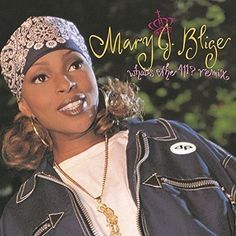 """The Mary J. Blige classic album 'What's The also had a remix collection. Listen for the Bad Boy Remix of """"Reminisce"""" featuring C. Smooth when you tap to open The Remix Channel in the free TuneIn app! 90s Hip Hop, Hip Hop And R&b, Hip Hop Fashion, 90s Fashion, Fashion Killa, Fashion Trends, Look 80s, R&b Albums, Mary J"""