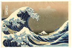 Hokusai Katsushika, Big Wave