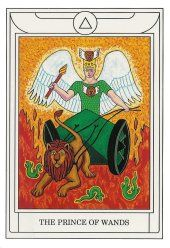 Prince of Wands ~ Golden Dawn Magical