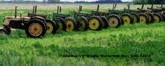John Deere's--another viewpoint of this great line-up