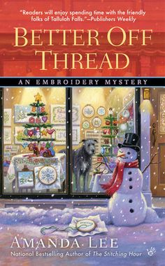 Santa finds himself in a stitch of trouble in the tenth in the series from the national bestselling author of The Stitching Hour… #holiday