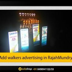 look walkers, Ad walkers,I walkers,in Rajhmundry Andhra pradesh. adzshop innovative advertising.
