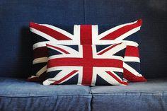 Union Jack Pillows <3<3