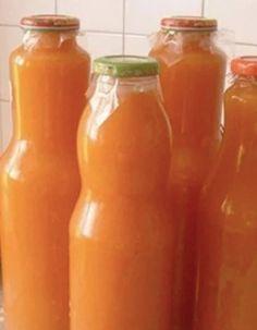 Domácí Kubík: Fantastická vitamínová bomba bez přidaného cukru, kterou si můžete připravit doma … Hot Sauce Bottles, Grapefruit, Spices, Food And Drink, Fresh, Cukor, Spice