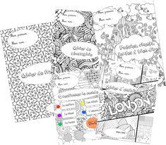Pour la première page de leurs cahiers, cette année, les élèves pourront colorier une jolie présentation (réalisée à partir de coloriages trouvés sur Internet). Pour les télécharger, il... Cycle 3, Art Education, Presentation, Notebook, Classroom, Animation, Teaching, Internet, Kids
