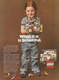 Lego - yesterday's ad.