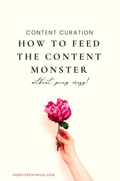 Feeding the content monster is an important task for content marketers. Peg Fitzpatrick shares how to feed your content monster and stay on brand. Business Advice, Start Up Business, Starting A Business, Online Business, Make More Money, Make Money Blogging, Media Smart, Social Media Marketing Business, Blog Tips