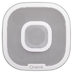 Onelink Safe & Sound Alexa Enabled Smoke/Carbon Monoxide Detector Alarm with Premium Home Speaker White - First Alert