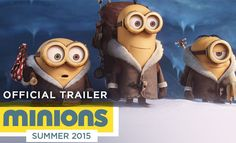 Minions - Upcoming 3D Animation Movie Trailer and Character Designs. Read full article: http://webneel.com/minions-official-trailer-animation-movie | more http://webneel.com/animation | Follow us www.pinterest.com/webneel