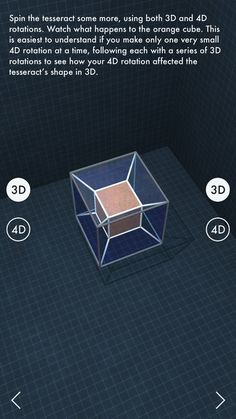 The Fourth Dimension on App Store:   Over 250000 people have blown their minds with this app. The Fourth Dimension is a 30-page interactive book that explains a single mathematica...  Developer: Drew Olbrich  Download at http://ift.tt/1BBZmio