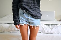Girly slouch