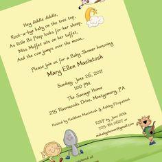 Office Baby Shower Invitation Wording Giraffe Little Monkey Baby ...