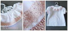 Camisa de cambraia branca 100% algodão