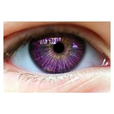 Images For > Purple Eyes ❤ liked on Polyvore featuring beauty products, skincare, eye care and eyes
