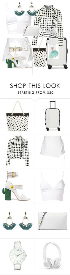 """""""White 1"""" by elizes on Polyvore featuring moda, PBteen, CalPak, Mary Portas, Dion Lee, MR by Man Repeller, Clover Canyon, Atelier Mon, Michael Kors i Armani Exchange"""