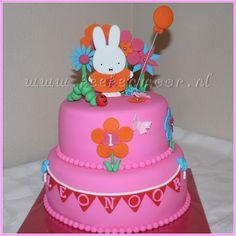 Nijntje taart Miffy cake
