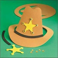 paper crafts for children simple cowboy hat crafts pinterest
