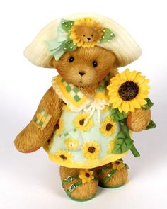 Heidi´s Cherished Teddies Galerie: CASSI - I Picked A Little Sunshine For You (118822)