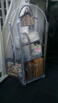 Luggage rack on Halloween Forum