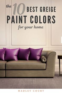 We are wild about greige paint colors for our home. One of the hottest trends right now is greige paint colors for your home. The beauty in greige paint for the home is that it looks great with any tone in the room. Whether you are painting your Kitchen cabinets, living room, or house exterior, our tips will ensure that you pick the best greige paint for your space. Hadley Court Interior Design Blog by Central Texas Interior Designer, Leslie Hendrix Wood.