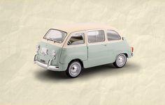 Fiat 600 Multipla (1960) #fiat #edicola #collezione