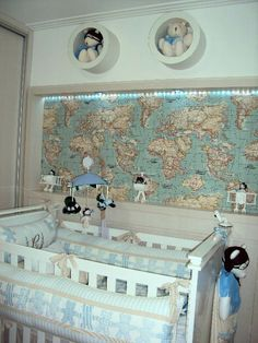 papel de parede quarto de bebe masculino aviador - Pesquisa Google