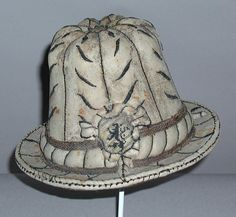 late 16th century tall hat (probably Austrian)