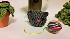 Mini Kitten Plush by GrinningMystCrochet on Etsy