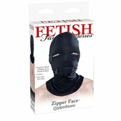 How would you like to wake up next to that face?  If you would... Then youre in the right place!  FF Black Zipper Face Hood