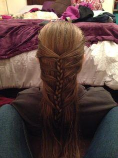 Sweet hair style!