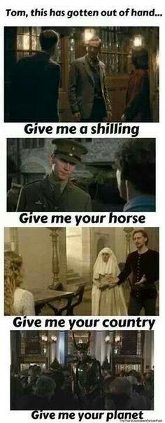 Tom Hiddleston ~ Give me...
