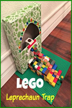Patrick's Day by making this easy LEGO Leprechaun Trap for Kids! Patrick's Day by making this easy LEGO Leprechaun Trap for Kids! St Patricks Day Crafts For Kids, Valentine's Day Crafts For Kids, Diy For Kids, Lego Activities, Spring Activities, Elderly Activities, Dementia Activities, Toddler Activities, Holiday Crafts