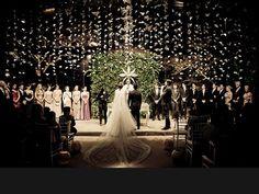 Decoração de casamento sem flores