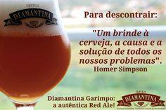 Cerveja Diamantina Garimpo, estilo Irish Red Ale, produzida por Cerveja Diamantina, Brasil. 5.2% ABV de álcool.