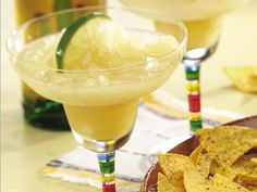 Frozen White Wine Mar-Grías.  I'm always looking for a good frozen summer drink.  This one will do.